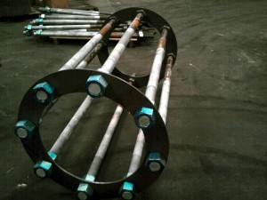 Foundation cages/anchor bolt circle