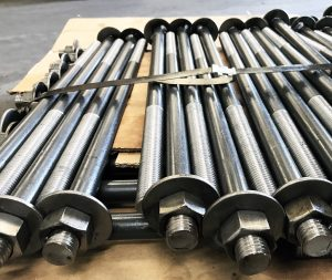 straight anchor bolts
